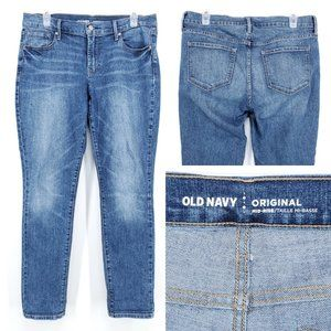 OLD NAVY Skinny Jeans Mid Rise Stretch Women's 10